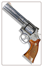 GUNS - Smith & Wesson Engraved